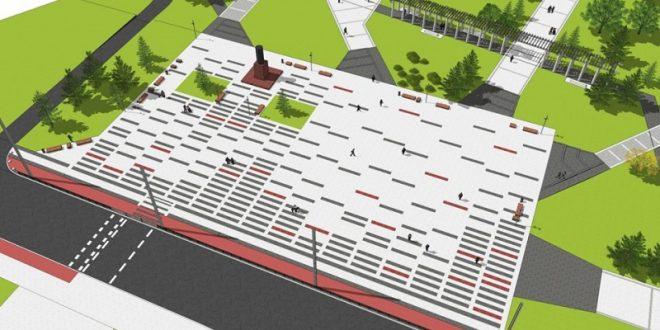 У парку Шевченка після реконструкції збільшиться площа зелених зон