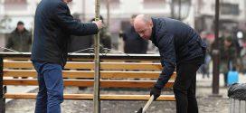 Міський голова Тернополя разом із заступниками висадили червонолисті клени