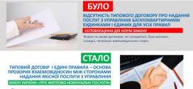Затверджено Типовий договір про надання послуги з управління багатоквартирним будинком