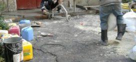 """Працівники ПП """"Східний масив"""" відремонтували вхідні майданчики у будинках"""