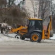 """Працівники ПП """"Наш дім"""" очищають прибудинкові території від снігу"""