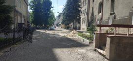 Триває капремонт ділянки в  районі вул. Січинського та будівлі вул. Валова, 11