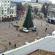 На новорічній ялинці у центрі Тернополя облаштовують ілюмінацію