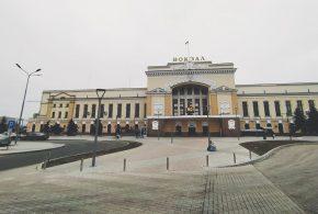 Реконструкція Привокзальної площі у Тернополі на завершальному етапі