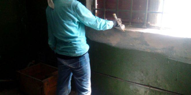 """Працівники ПП """"Благоустрій"""" провели ремонт машинного відділення"""