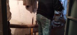 """Заміну кранів на пульті гарячого водопостачання здійснили працівники ПП """"Вікторія – М"""""""