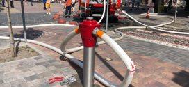 Пожежу у центрі гасили за допомогою гідранта, облаштованого у рамках реконструкції вулиці Чорновола