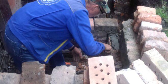 """Працівники ПП """"Благоустрій"""" здійснили ремонт приямку"""