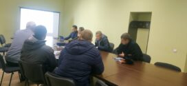 """Відбулася зустріч представників гаражного кооперативу """"Гаївський"""" із проектантами, поліцією та фахівцями УЖКГ"""